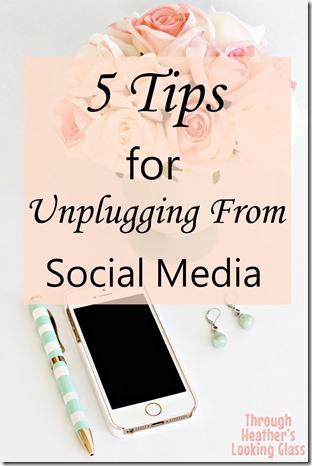 tips for unplugging