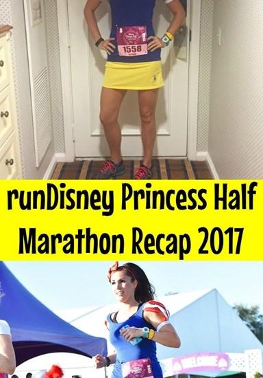 runDisney Princess Half Marathon Race Recap 2017