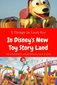 5 Things to look for at Disney's Toy Story Land opening at Hollywood Studios on June 30th.