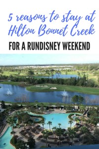 Hilton Bonnet Creek Orlando is a great place to stay for a runDisney race weekend!