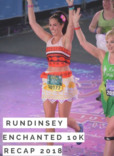runDisney Enchanted 10k Race Recap 2018