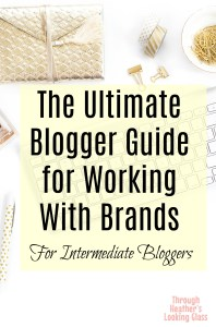 Ultimate blogger guide for working with brands