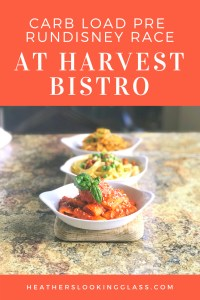 Carb load before your next runDisney race at Harvest Bistro at Hilton orlando Bonnet Creek hotel