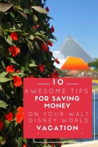 Save Money in Walt Disney World