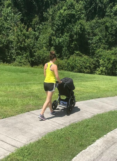 4 Tips for Stroller Running in the Heat