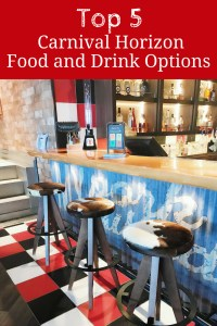 Carnival Horizon Food and Drink