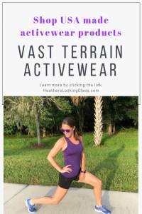 Vast terrain activewear made in the USA