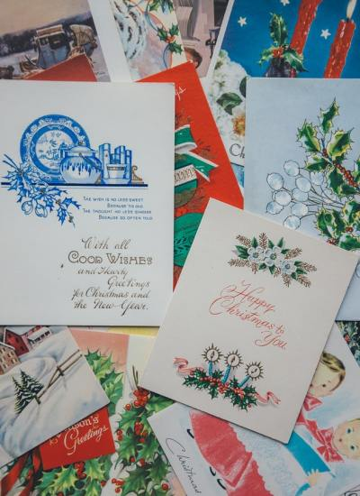 Christmas Cards and a Life of Purpose