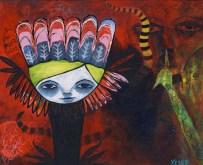 Heather Carr Acrylic painting 2012