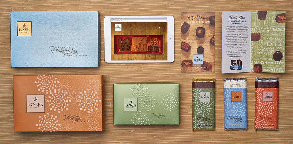 heathery project - Lore's Chocolates