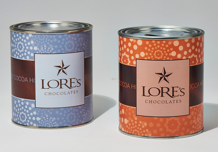 heathery project - Lore's Chocolates