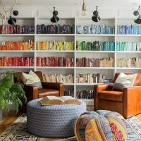 Home Style: Color Coordinated Books