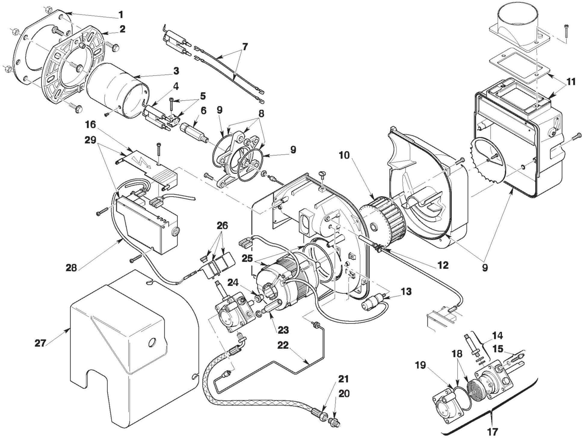 12 Volt Wiring Diagram For Beckett Burner
