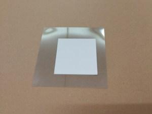 チタン酸バリウムの塗工4回目
