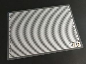 アルミ箔フィルムヒーター AL-DC-A4