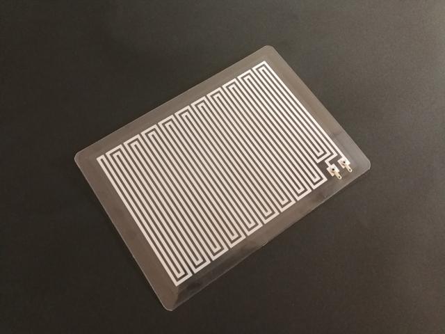 アルミ箔フィルムヒーター A6サイズ 標準仕様