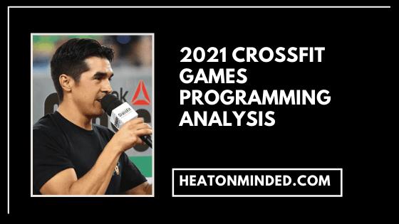 2021 crossfit games programming