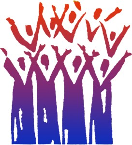 heaton voices community choir logo