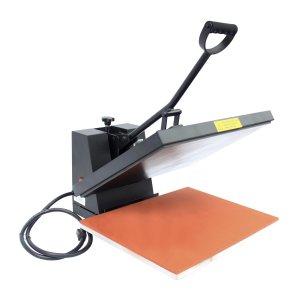 Open Clamshell Heat Press