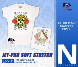 Jet-Pro Soft Stretch Inkjet Heat Transfer Paper