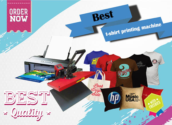 10 best t shirt printer machine reviews and comparison for Cheapest t shirt printing machine