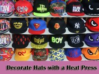 How to Decorate Hats with a Heat Press