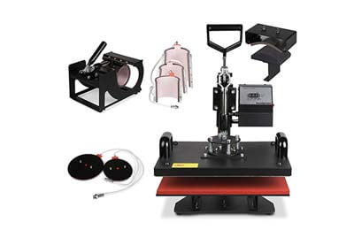 8 in 1 Swing Away Heat Press