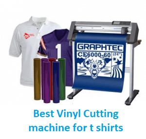 Best Vinyl Cutting machine for t shirts