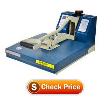 Fancierstudio Power Heat Press Industrial-Quality Digital 15-by-15-Inch