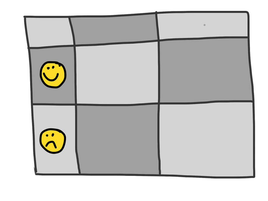smiley table