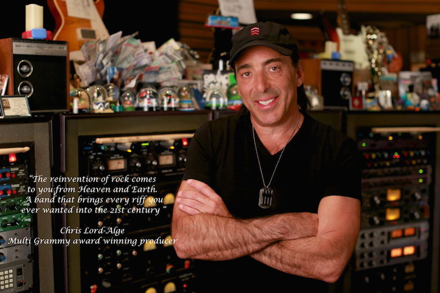 Chris Lord Alge quote on the new Heaven and Earth album Hard To Kill