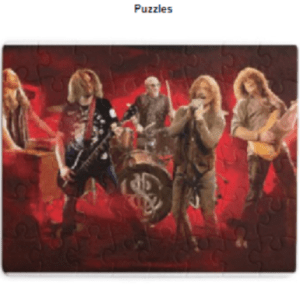 Jigsaw Puzzle Heaven and Earth Band Paint Image