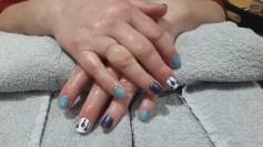 Azure Wish, Cream Puff, Starry Sapphire
