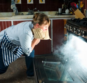 Kitchen warning signs for seniors