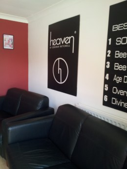 The Heaven Reception Area at Head Office