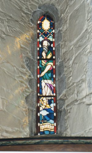 Church window in Voss