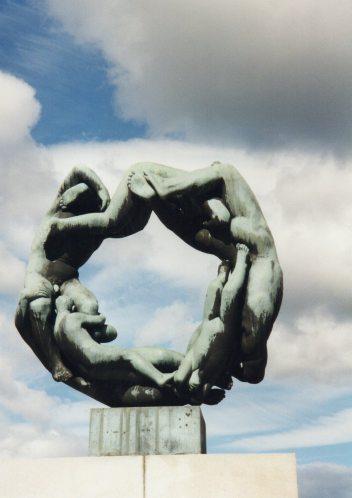 Circle of Life statues