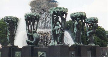 Sculptures in Vigelandsparken, Norway