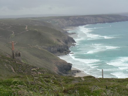 Storm clouds gather over Wheal Coates2