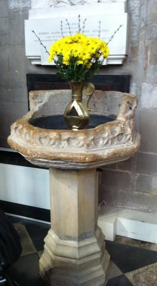 Shakespeares Baptismal Font
