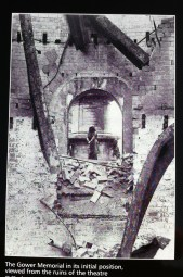 Theatre ruined by fire in 1926