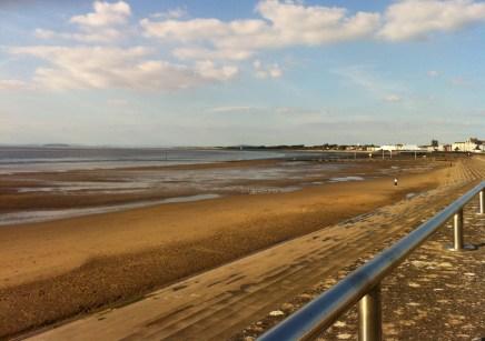 Burnham tide way out