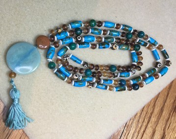 Mala necklace with tassel