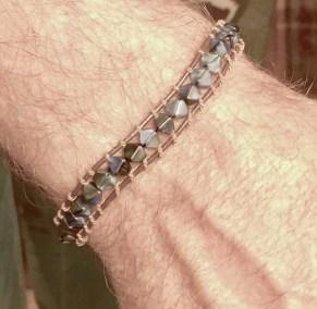 Mens loom bracelet