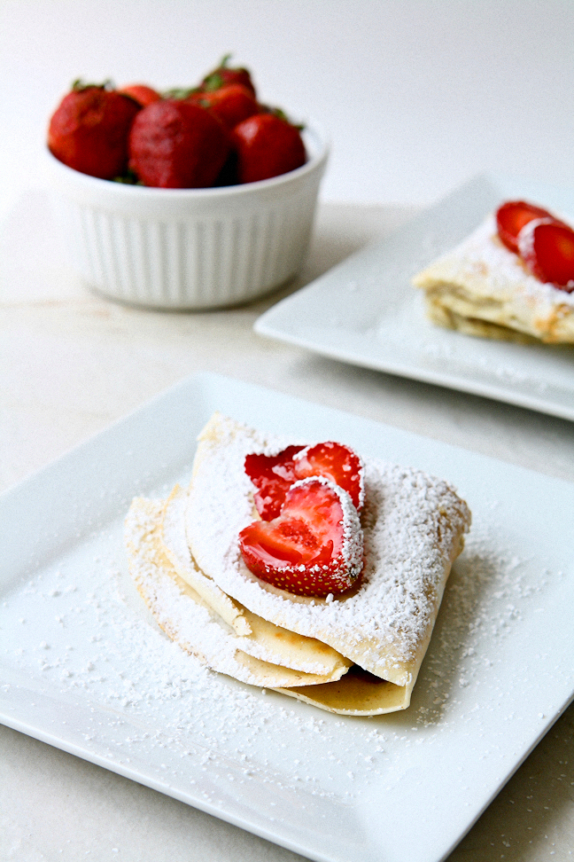 Mascarpone Crepes with Nutella filling 1