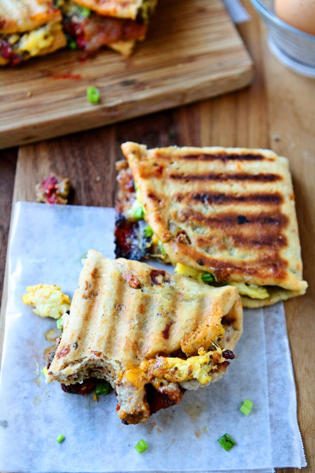 Breakfast Panini (Fast!) | Heavenly Home Cooking