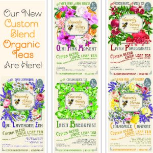 All teas Organic blends Heavenly Honey