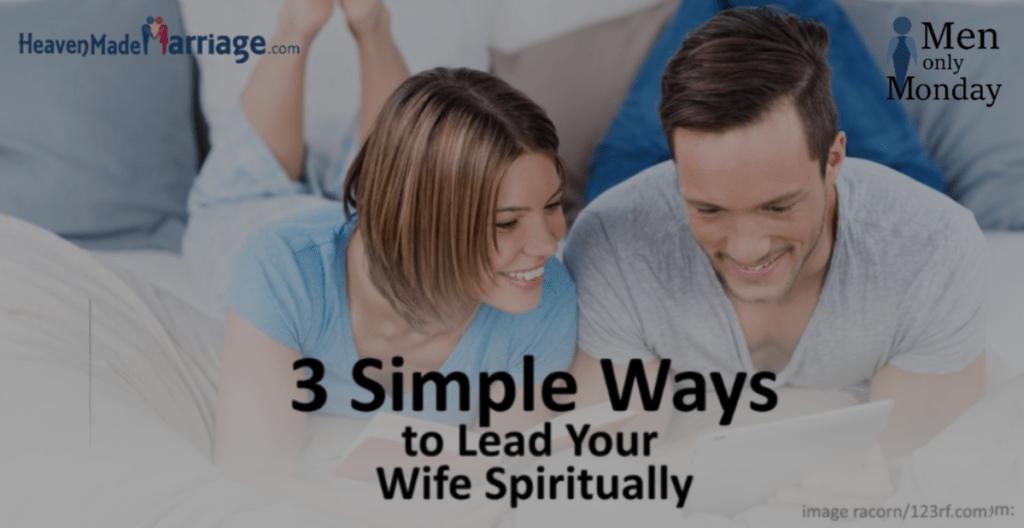 Lead her spiritually