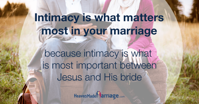 Intimacy Matters Most