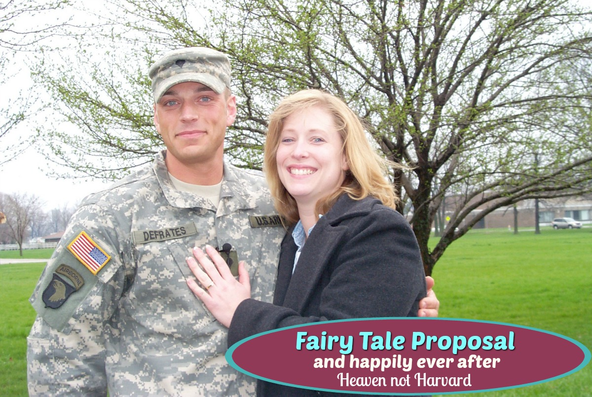 Fairy Tale Proposal and Happily Ever After